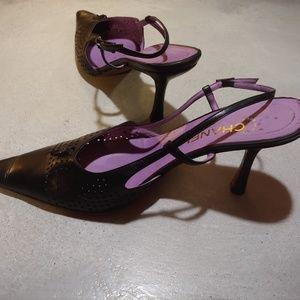 Chanel Classic Slingback Heels